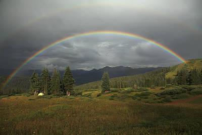 Durango Double Rainbow Art Print