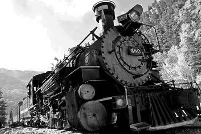 Photograph - Durango-silverton Narrow Gauge Rr by Marta Alfred