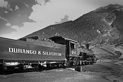 Photograph - Durango-silverton Rr 02 by Jeff Brunton