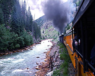 Photograph - Durango To Silverton by Kume Bryant