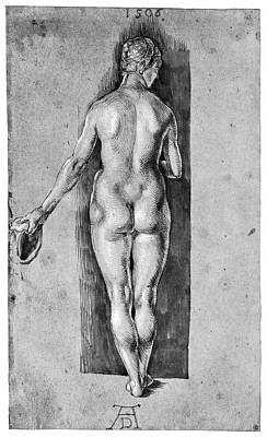 Durer Nude, 1506 Art Print