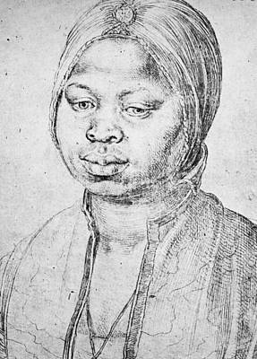 Drawing - Durer Slave Woman, 1521 by Granger