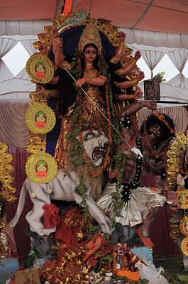 Durga Puja Photograph - Durga by Bliss Of Art