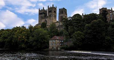 Durham Cathedral And Fulling Mill Art Print by Trevor Kersley