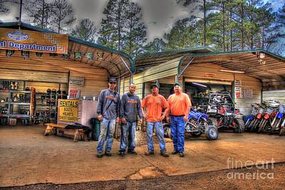 Photograph - Durhamtown Proshop And The Experts by Reid Callaway