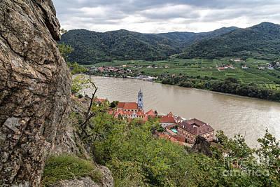 Durnstein Photograph - Durnstein And The Wachau Valley by Rhonda Krause