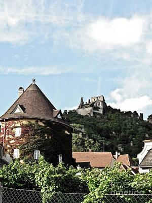 Photograph - Durnstein Castle by Elvis Vaughn