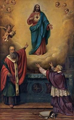 Dusi Bartolomeo, Sacred Heart Of Jesus Art Print
