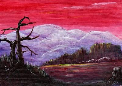 Painting - Dusk by Anastasiya Malakhova