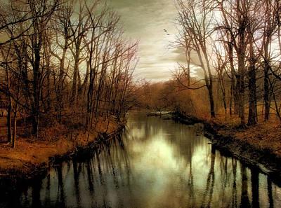 Rural Digital Art - Dusk Approaches by Jessica Jenney