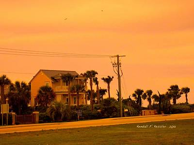Photograph - Dusk At Isle Of Palms by Kendall Kessler