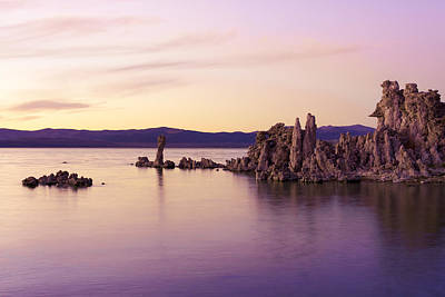 Photograph - Dusk At Mono Lake by Priya Ghose