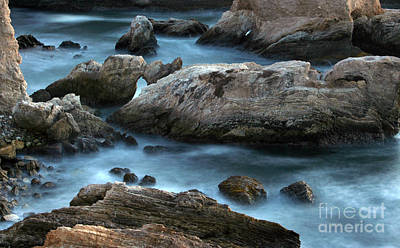 Print featuring the photograph Dusk At Montana De Oro by Michael Rock