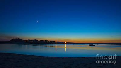 Photograph - Dusk At The Beach by Alana Ranney