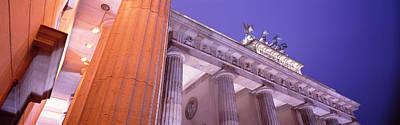 Dusk, Brandenburg Gate, Berlin, Germany Art Print