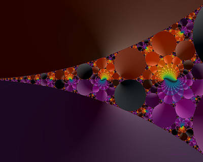 Digital Art - Dusk Fractal by Judi Suni Hall