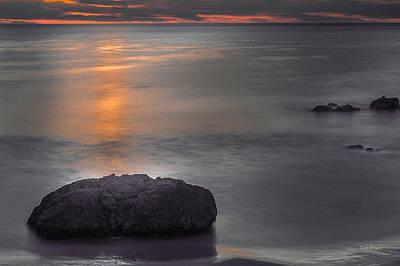 Photograph - Dusk Glow At San Simeon by Tim Bryan