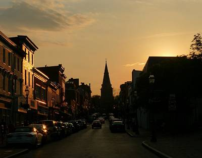Photograph - Dusk In Annapolis by Jennifer Wheatley Wolf