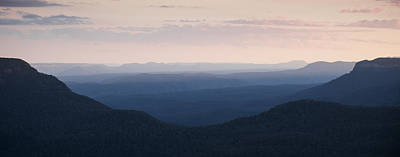 Photograph - Dusk In The Blue Mountains by Joe Wigdahl