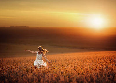 Freedom Photograph - Dusk by Jake Olson