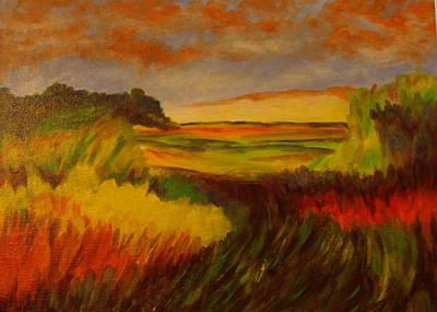 Painting - Dusk by Jorge Parellada