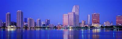 Dusk, Miami Florida, Usa Art Print