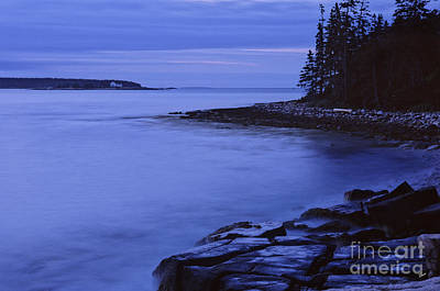 Photograph - Dusk On Frenchman's Bay by Alana Ranney