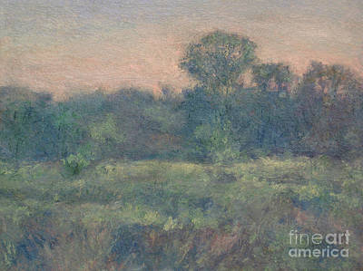 Painting - Dusk On The Meadow by Gregory Arnett