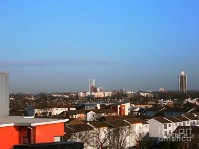 Dusk Over Plaistow And East-north London  Original
