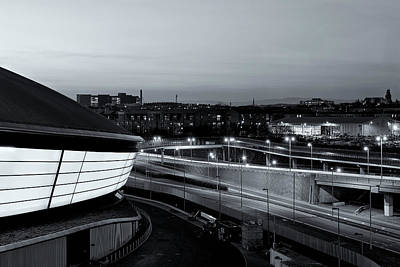 Photograph - Dusk Over The Expressway by Stephen Taylor