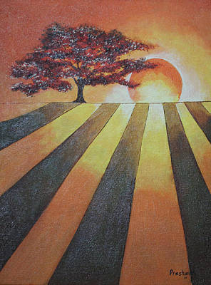 Fantastique Painting - Dusk  by Prashanth Bala Ramachandra