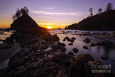 Photograph - Dusk Skies Along The Coast by Mike Reid