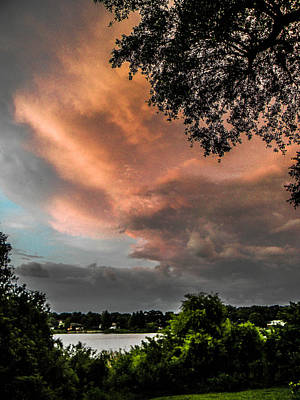 Dusk Storm  Art Print by Christy Usilton