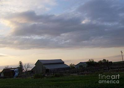 Art Print featuring the photograph Dusk To Dawn by Bobbee Rickard