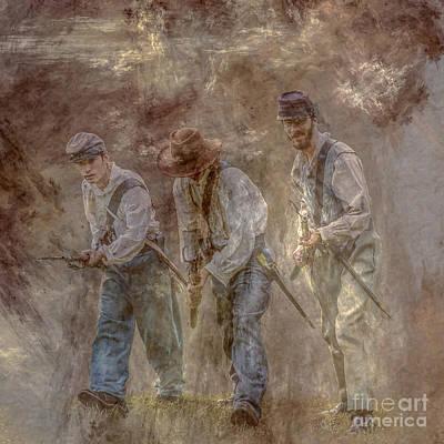 Dust And Gunpowder  Art Print