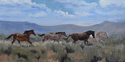 Painting - Dust And Sage by Karen McLain