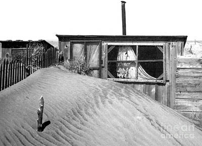 Sirocco Photograph - Dust Bowl, Cimarron County, 1937 by Science Source