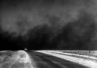 Dust Bowl In The Texas Panhandle 1936 Art Print by Mountain Dreams