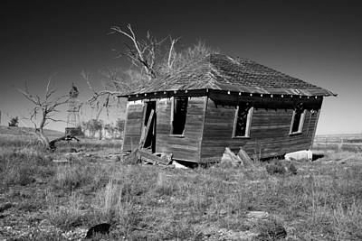 Photograph - Dust Bowl Memory by Mary Lee Dereske