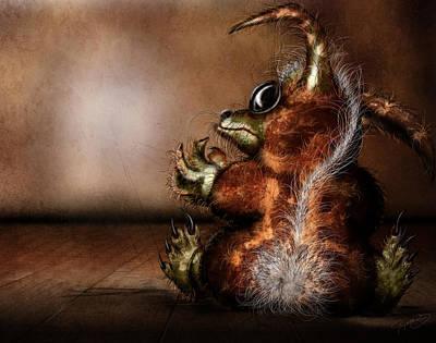 Dust Bunny Art Print by Jeremy Martinson