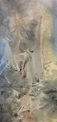 Art Print featuring the painting Dust Drift by Rebecca Davis