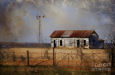 Desolation Digital Art - Dust In The Air by Betty LaRue
