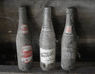 Dust On The Bottles Art Print