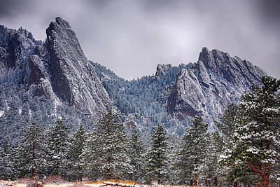 James Insogna Photograph - Dusted Flatiron by James BO  Insogna