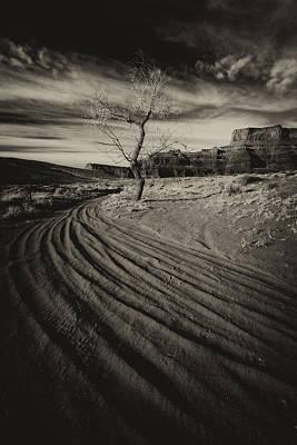 Dusty Road Print by Allen W Sanders