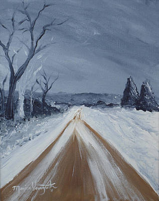 Painting - Dusty Road by Monica Veraguth