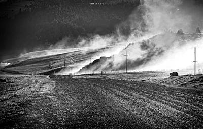 Photograph - Dusty Roads by Joan Herwig