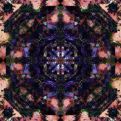 Digital Art - Dusty Rose by Betsy Jones