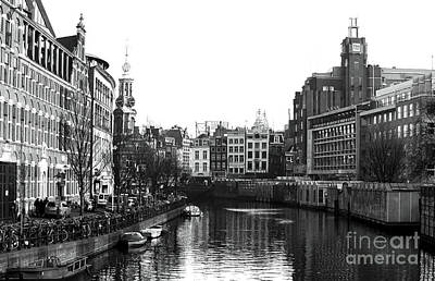 Dutch Canal  Art Print by John Rizzuto