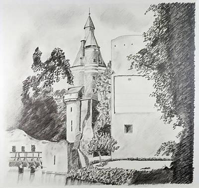 Castle Duurstede Art Print by Leigh Bressner